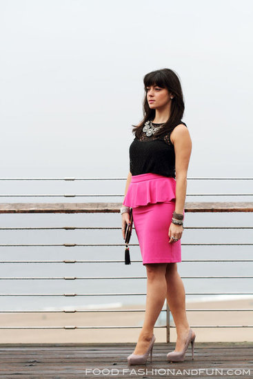 Perfect Pink Peplum...for play
