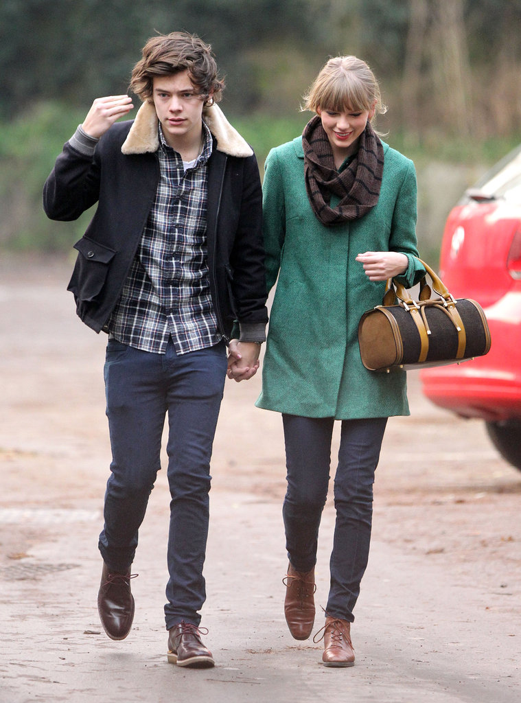 Taylor Swift and Harry Styles were together after her birthday.