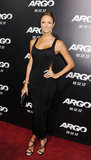 Stacy Keibler gave new meaning to the LBD with this body-con cutout Azzedine Alaïa number at the LA premiere of Argo.