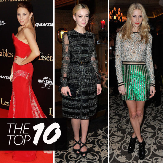 Top Ten Best Dressed of the Week: Kate, Carey, Poppy & More!