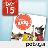 18 Days of Holiday Giveaways, Day 15: PetSugar — Win $500 to Wag.com!