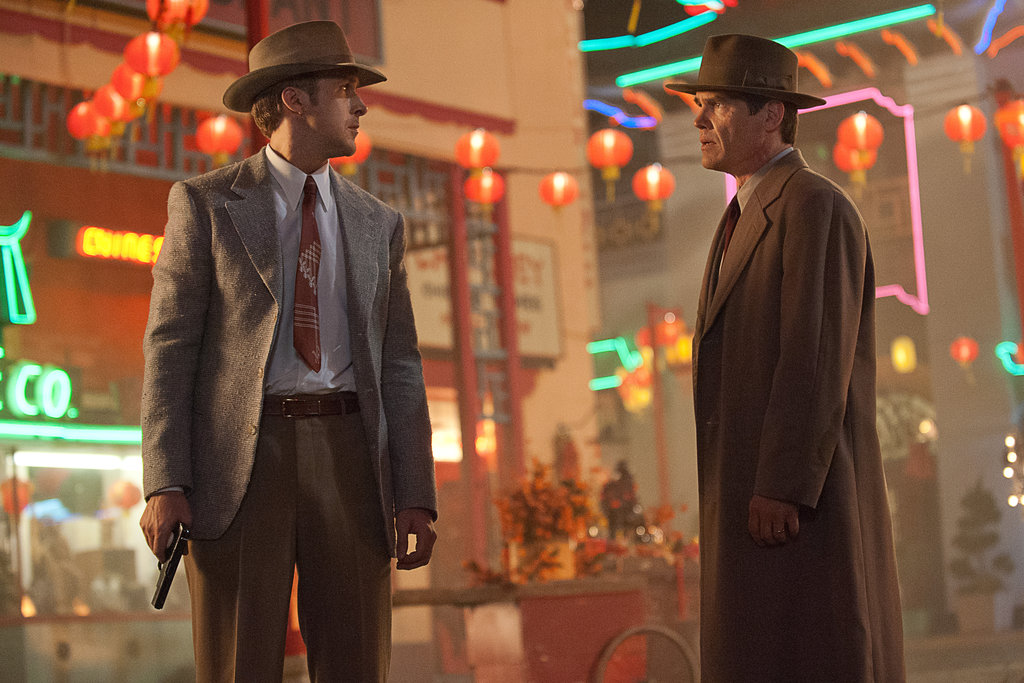 Ryan Gosling and Josh Brolin in Gangster Squad.