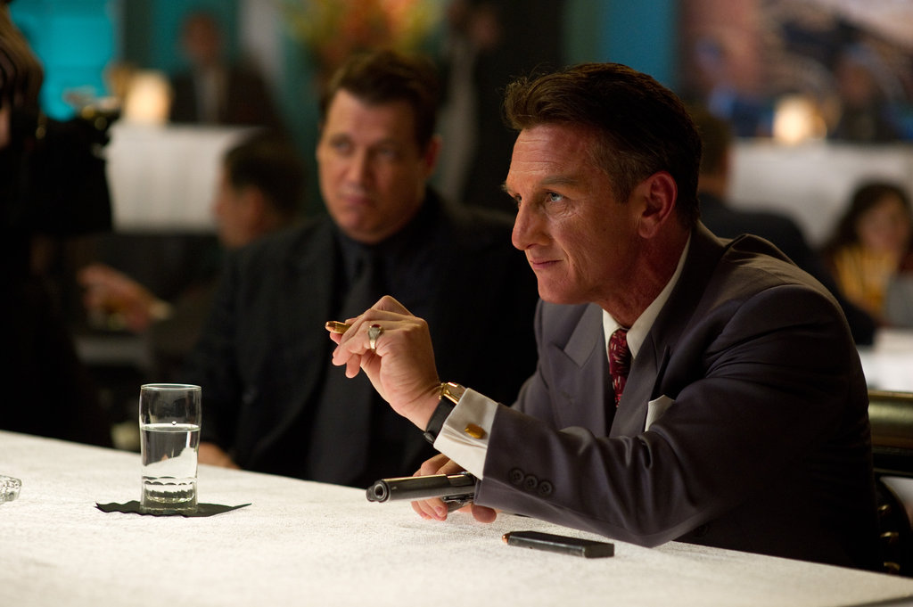 Sean Penn in Gangster Squad.