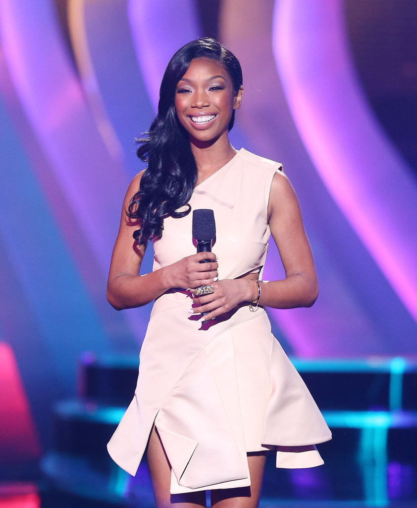 Brandy presented at the event.