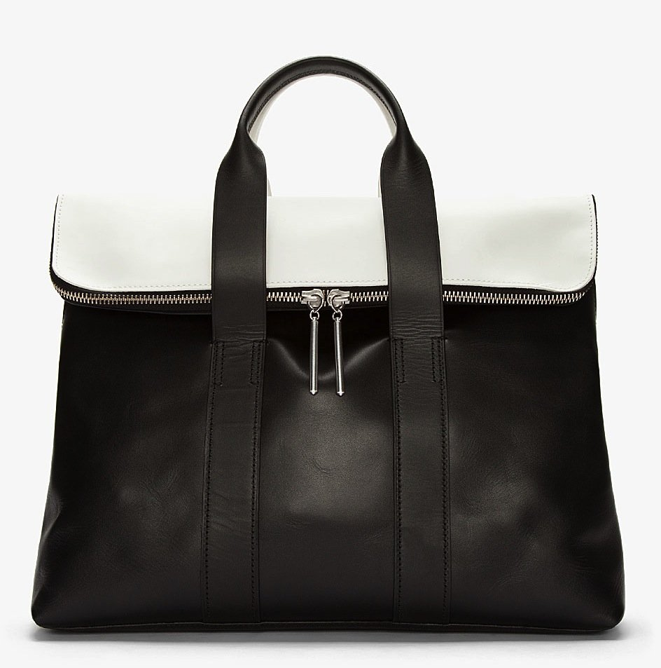 This 3.1 Phillip Lim 31 hour bag ($636, originally $795) is the epitome of chic — the black and white combo is perfect for day or night.