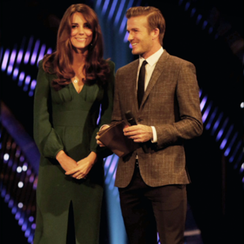 Kate Middleton in Green Alexander McQueen Dress | Video