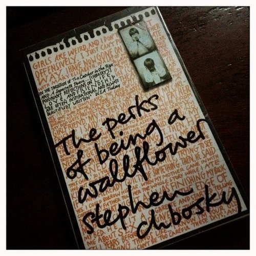 Instagram user minalibao made sure to read The Perks of Being a Wallflower before catching the movie.