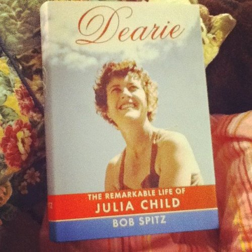 Instagram user rosemarylavon tackled the Julia Child bio Dearie.