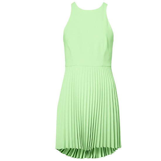 A Pleated Party Dress