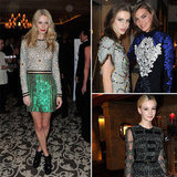 Sparkle! Brocade! Shine! See What the Fashion-Types Wear to Party