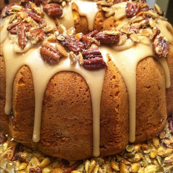 Cranberry Apple Pumpkin Cake