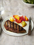 Splurge: 30-Day Dry-Aged NY Strip Steaks