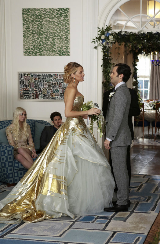 Jenny Humphrey (Taylor Momsen) and Eric van der Woodsen (Connor Paolo) return to Gossip Girl.