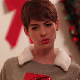 Anne Hathaway and Samuel L. Jackson Sad Off Video