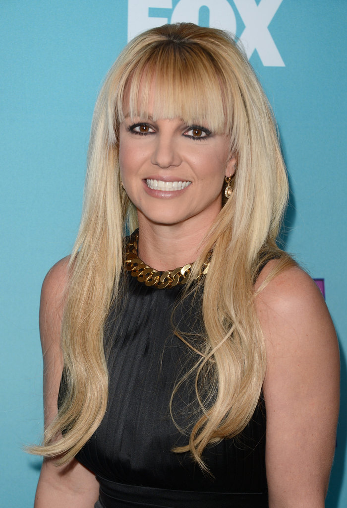 Britney Spears walked the red carpet.