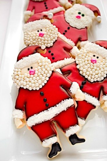 Santa Cookies