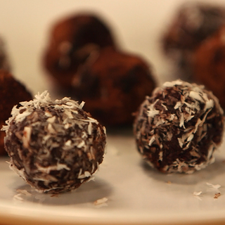 Healthy Raw Chocolate Truffle Recipe