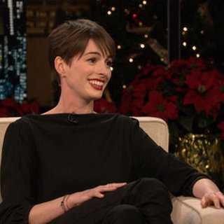 Anne Hathaway on Les Miserables Weight Loss and Relationship