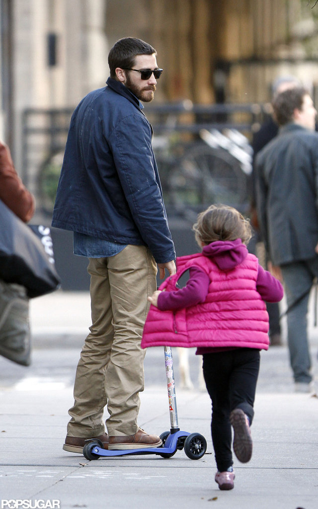He spent time with his niece, Ramona Sarsgaard, around NYC in November 2011.