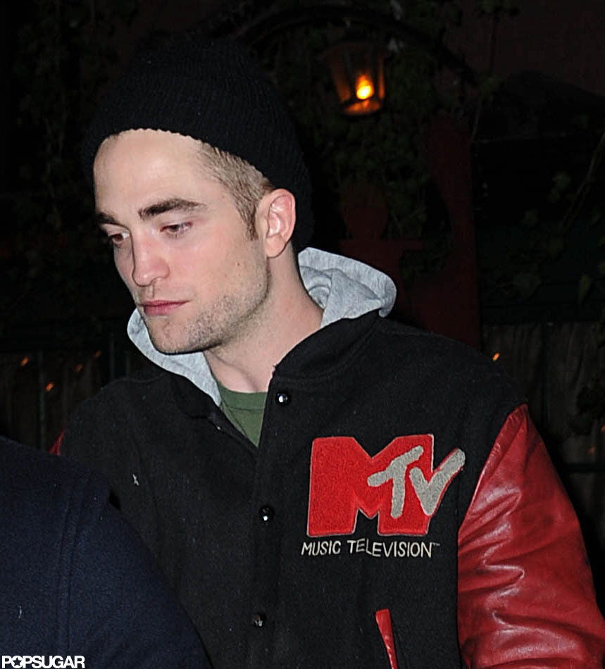 Robert Pattinson wore an MTV jacket.