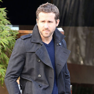 Ryan Reynolds at Sushi Lunch With a Friend in LA