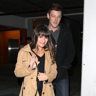 Lea Michele and Cory Monteith's Date Night | Pictures