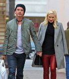 Gwen Stefani and Gavin Rossdale looked happy as they did some holiday shopping.