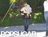 Jennifer Garner carried Samuel Affleck.