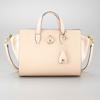 Alexander Wang isn't exactly the mascot for dainty dressing, but isn't this Alexander Wang Pelican structured satchel ($985) the perfect finishing touch to any ladylike ensemble?