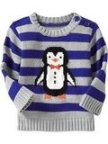 Old Navy Penguin Critter Sweater
