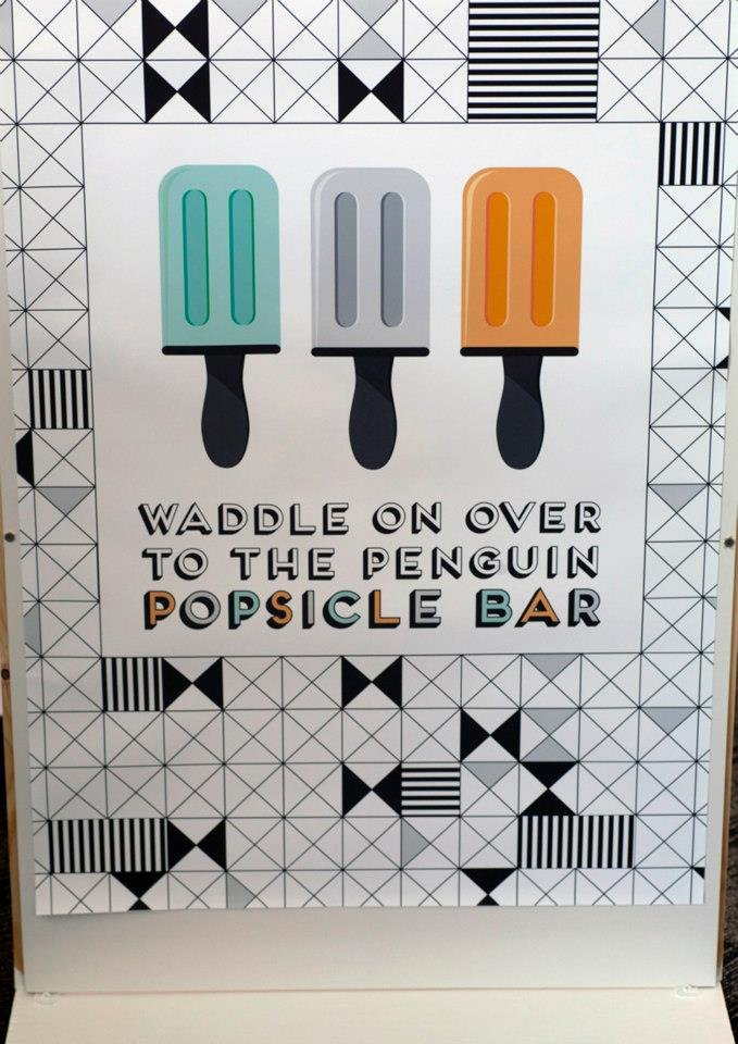 Penguin Popsicle Bar