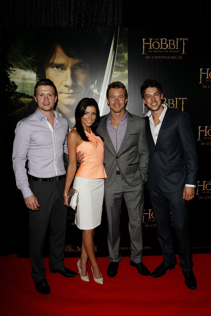 Hugo Johnstone-Burt, Kerryn Aymes, Todd Lasance and Lincoln Younes