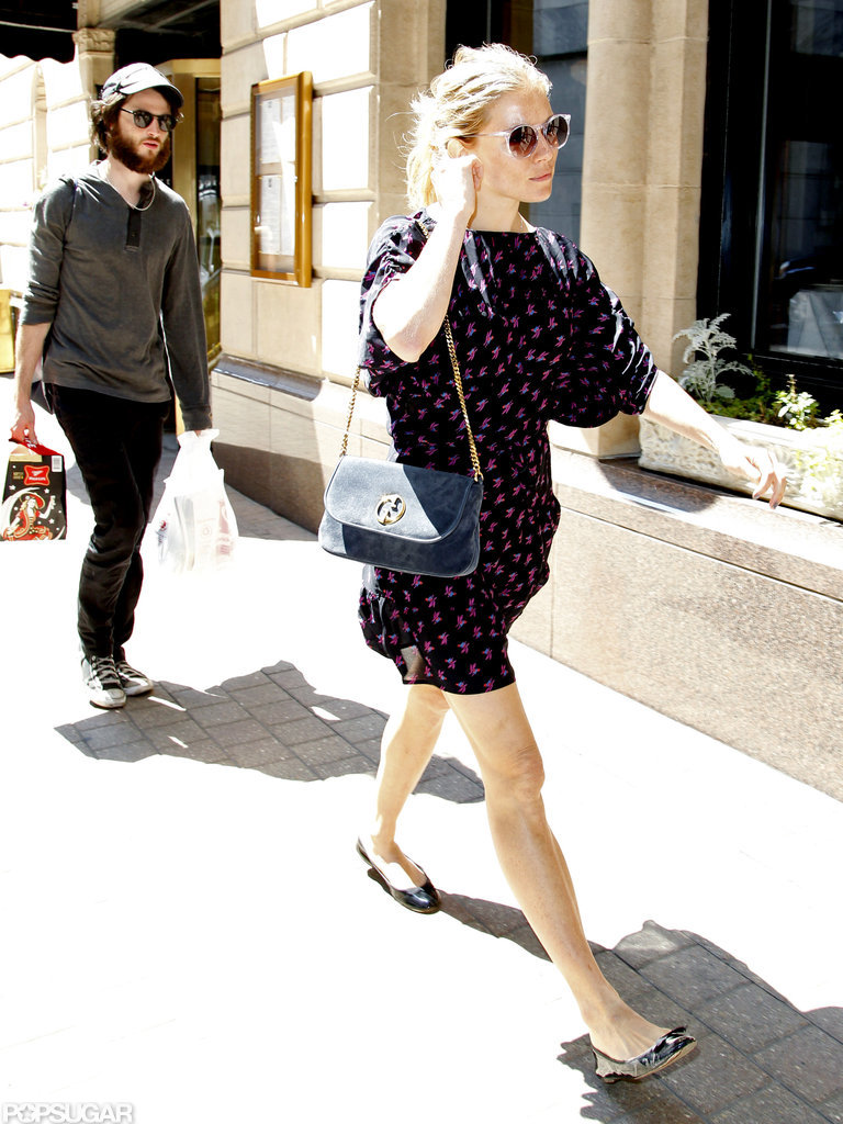 In June of 2011, Tom Sturridge and Sienna Miller headed to Chicago.