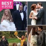 The Best Celebrity Weddings of 2012