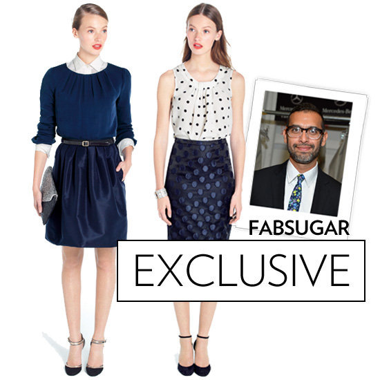 J.Crew's Tom Mora gave us an exclusive on holiday party dressing.