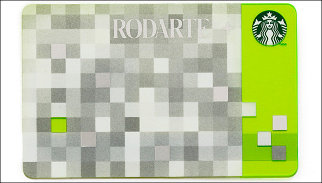 For the girl who craves innovative fashion the way she craves her morning cup of coffee, combine her love of both and hit it out of the ballpark: the Rodarte Starbucks gift card is a no-fail option.