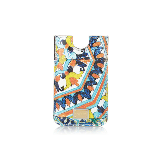 iPhone sleeve, approx. $149, Dolce & Gabbana at Net-a-Porter