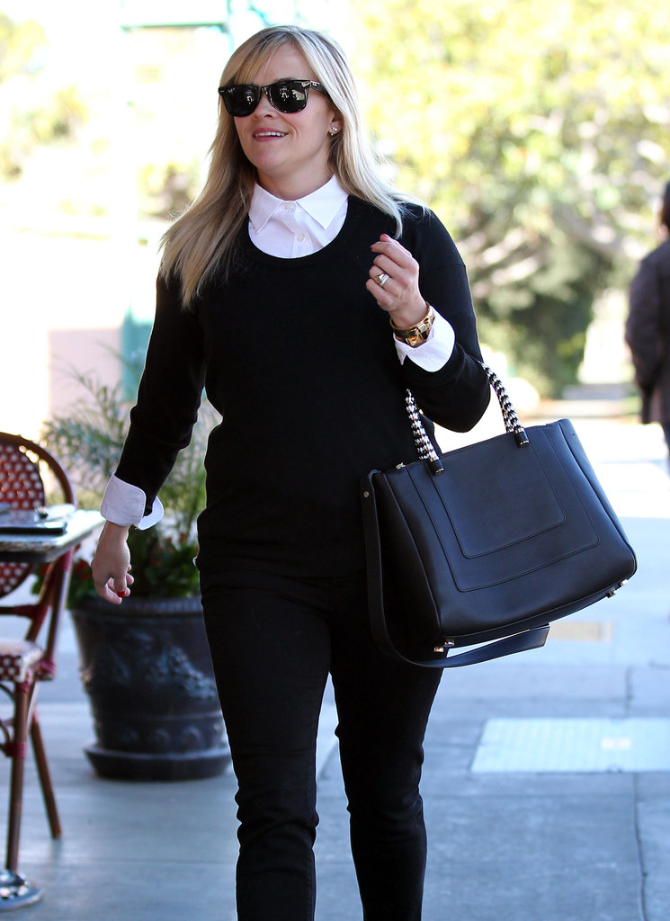 Reese Witherspoon smiled during an LA outing.