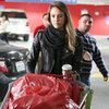 Jessica Alba Christmas Shopping at Target | Pictures