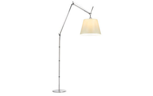 Tolomeo Mega - 17 in. Parchment Shade, Aluminum - Design Within Reach