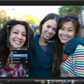 Use Faces in iPhoto