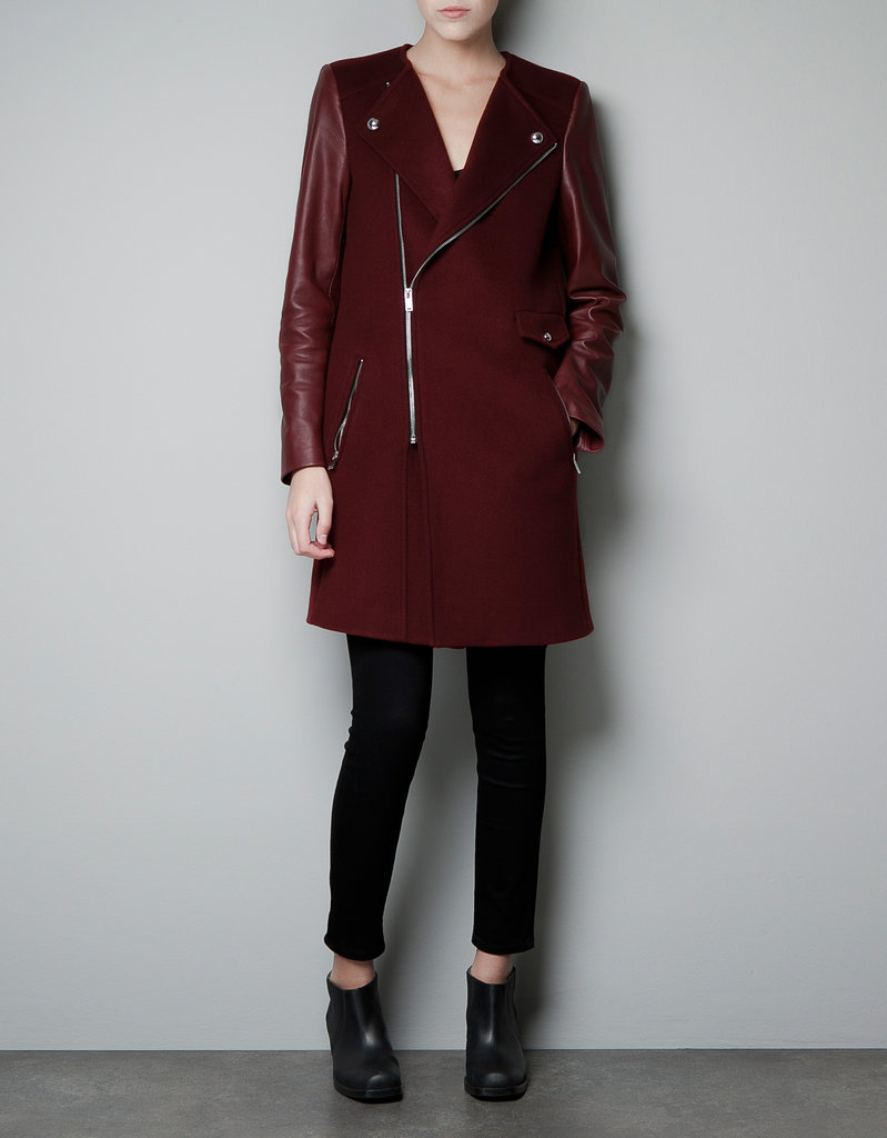 Zara Biker Coat With Zip ($170, originally $249)
