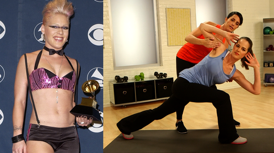 Get Pink's Toned Abs With This Workout!