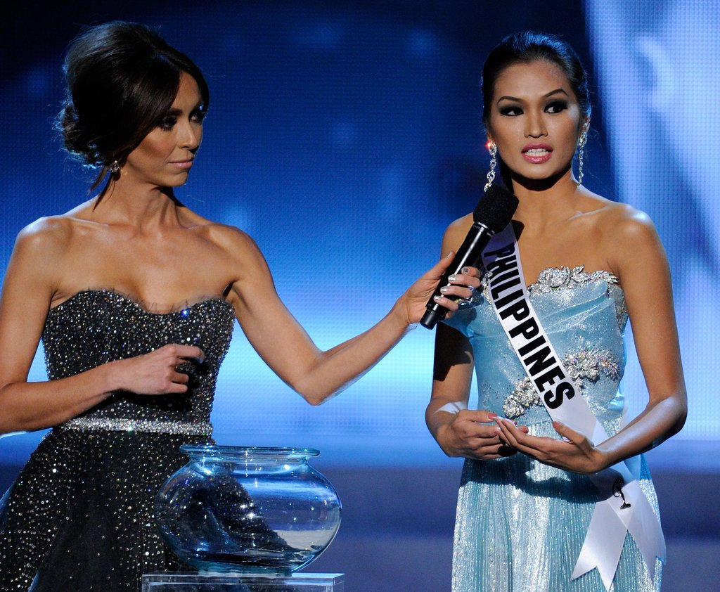 Giuliana Rancic and Janine Tugonon