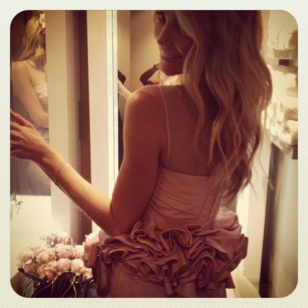 Jen looked lovely at Oaks Day in 2012. Source: Instagram user jenhawkins_