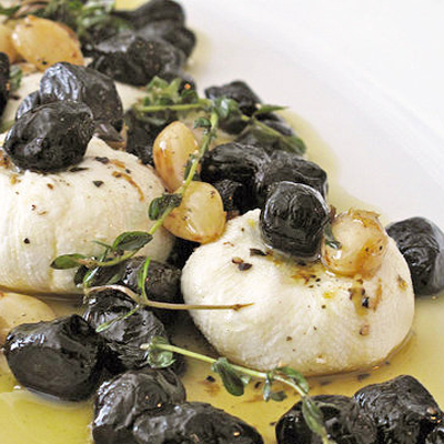 Marinated Goat Cheese and Olives