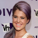 Kelly Osbourne's peach lip
