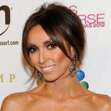 Giuliana Rancic's bronzed cheeks