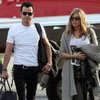 Jennifer Aniston &amp; Justin Theroux Christmas in Cabo Pictures