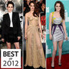 Kristen Stewart's Best Red-Carpet Looks 2012